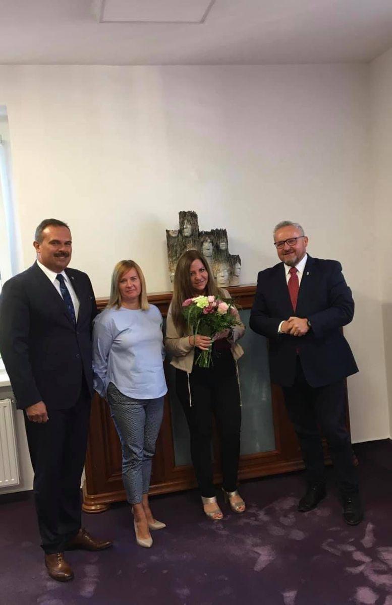 Powiat: Jubileusz dyrektorki DPS–u