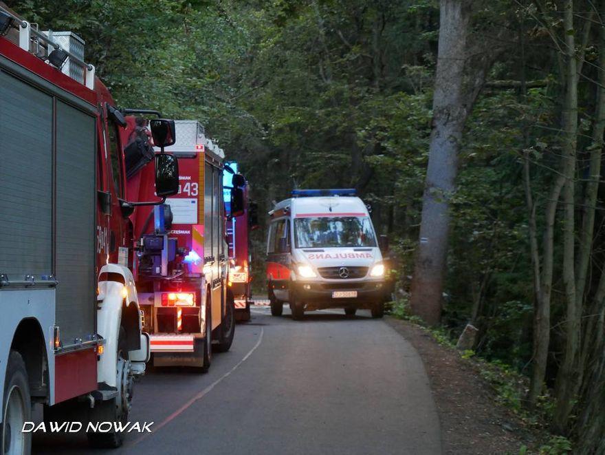 Jelenia Góra: Wypadek w Michałowicach