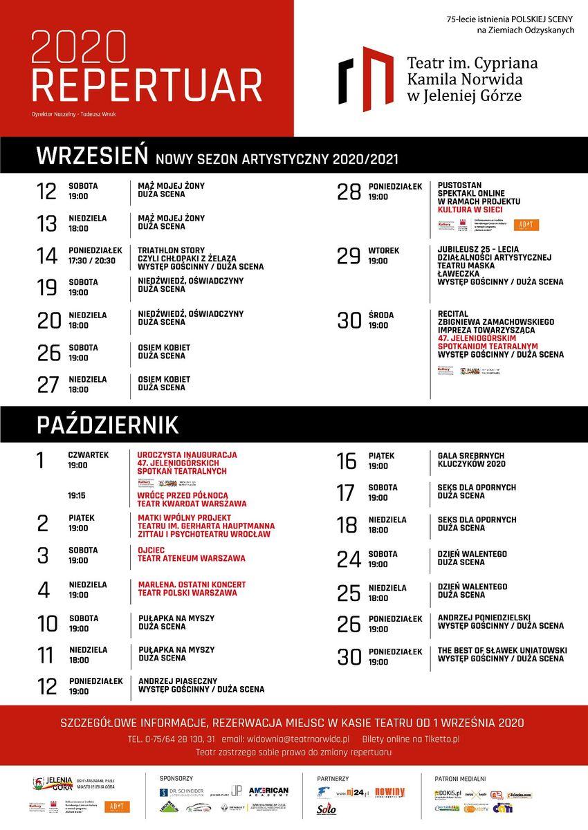 Jelenia Góra: Teatr im. C.K.Norwida – nowy sezon