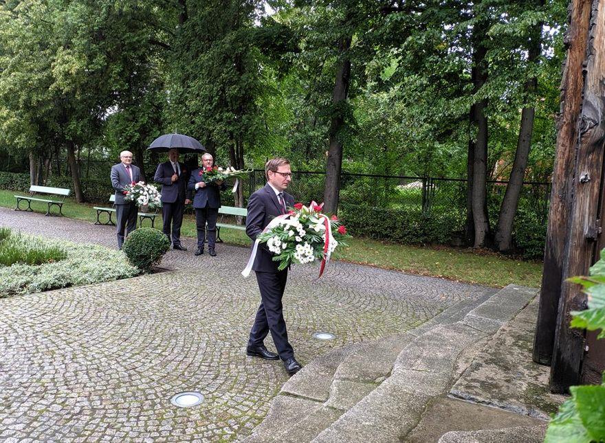 Jelenia Góra: Kwiaty przy Mieczach Piastowskich