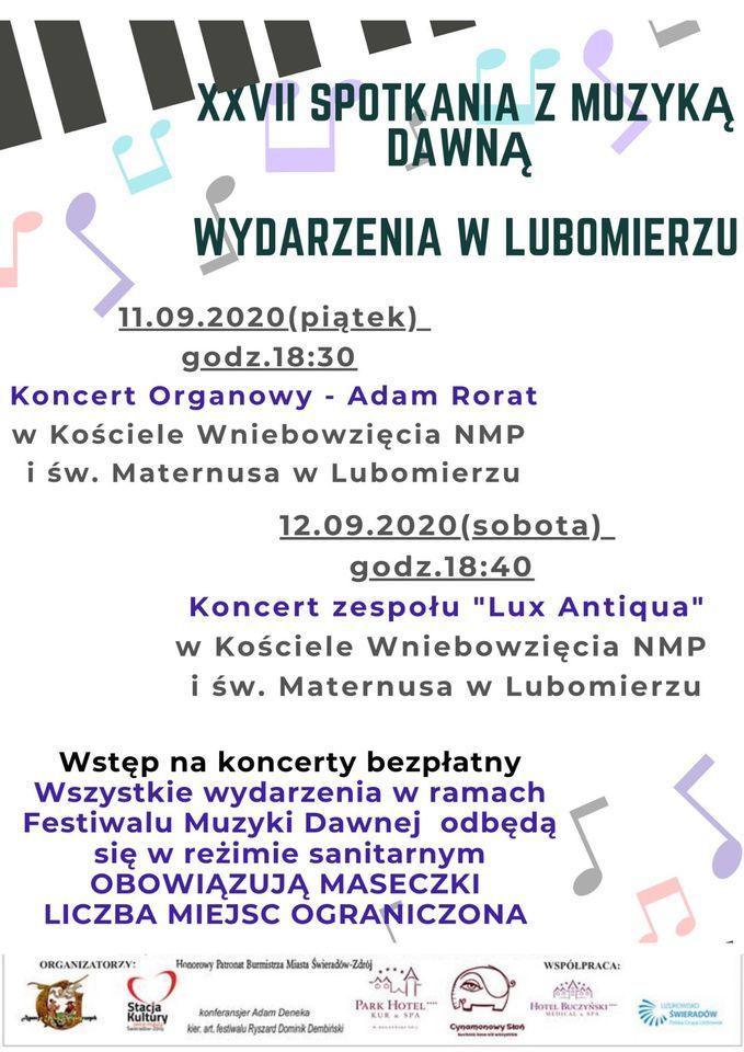 Lubomierz: Spotkanie z Muzyką Dawną