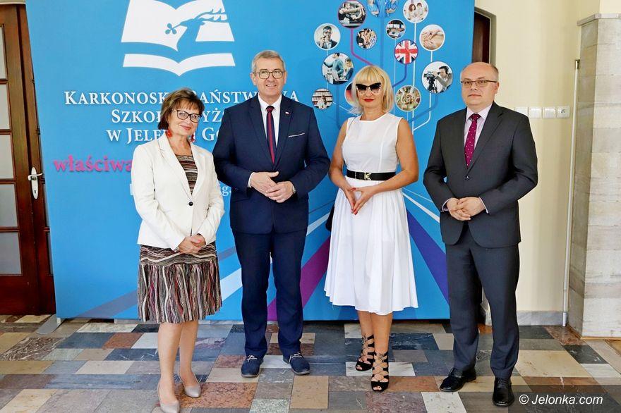 Jelenia Góra: Minister z wizytą w KPSW