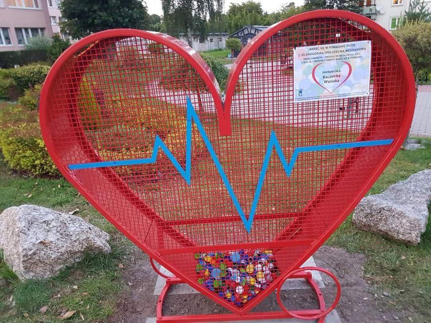 Jelenia Góra: Czwarte serce – teraz przy ulicy Transportowej