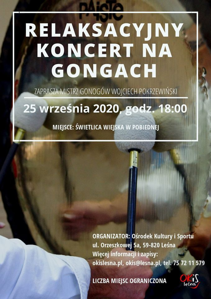 Pobiedna: Koncert na gongach