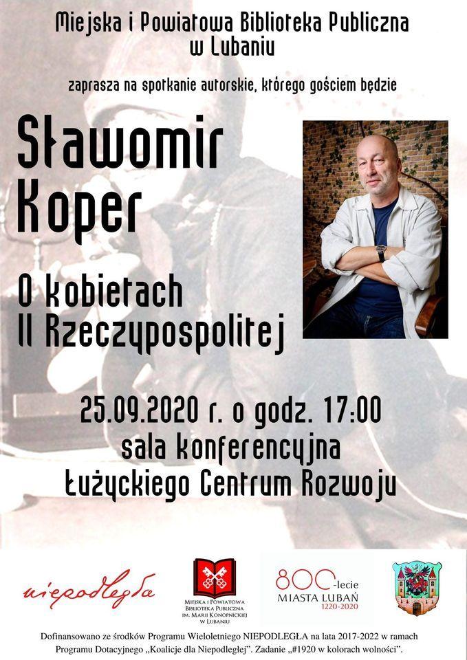 Lubań: Spotkanie z S. Koperem