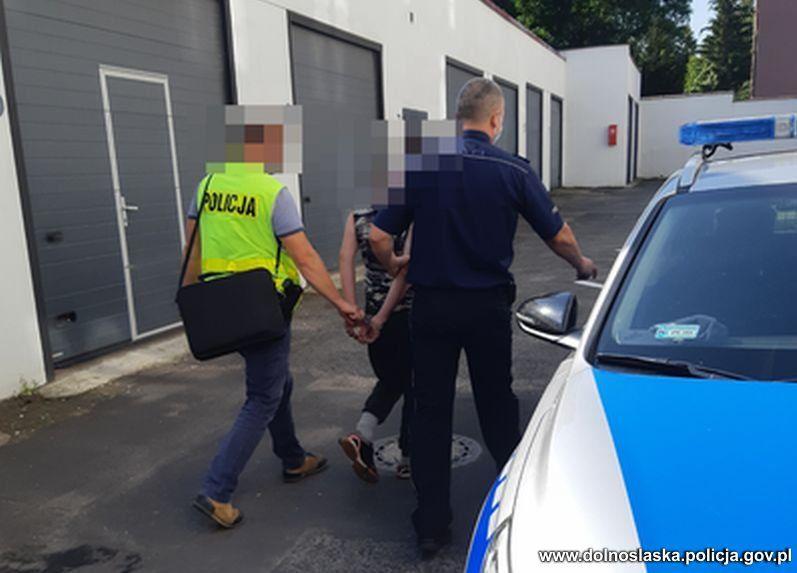 Region: Uciekł przed policją do rzeki
