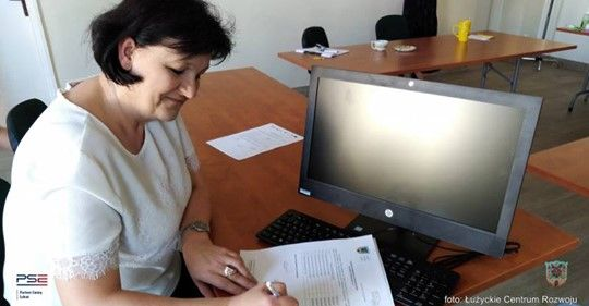 Lubań: Komputery dla szkół