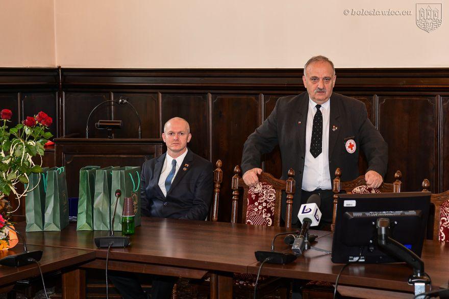 Bolesławiec: Uhonorowali krwiodawców