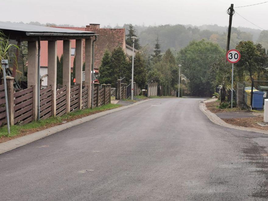 Wartowice, Warta Bolesławiecka: Finał remontu drogi