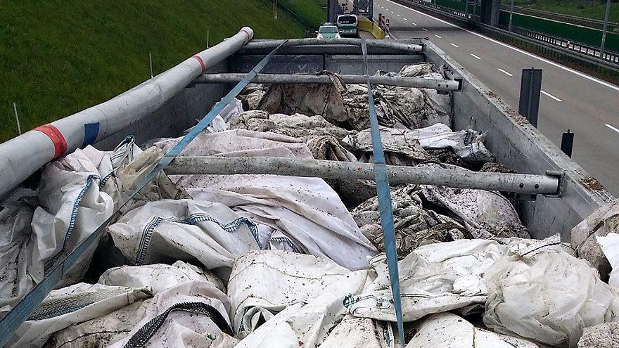 Region: Transport nielegalnych odpadów zatrzymany