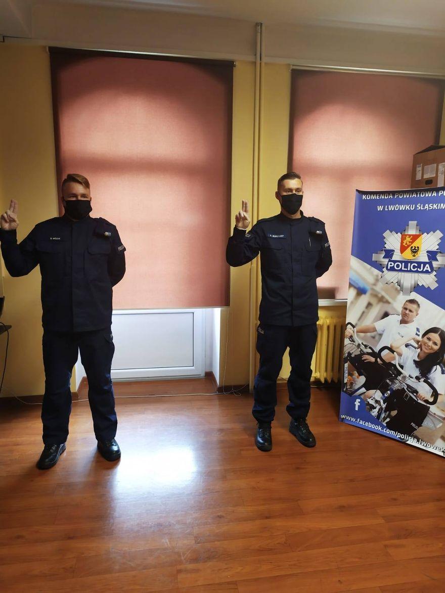 Lwówek Śląski: Ślubowali policjanci