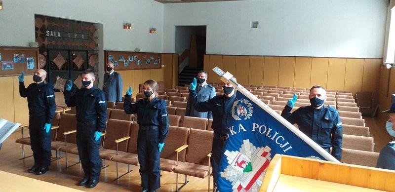 Jelenia Góra: Ślubowanie młodych policjantów