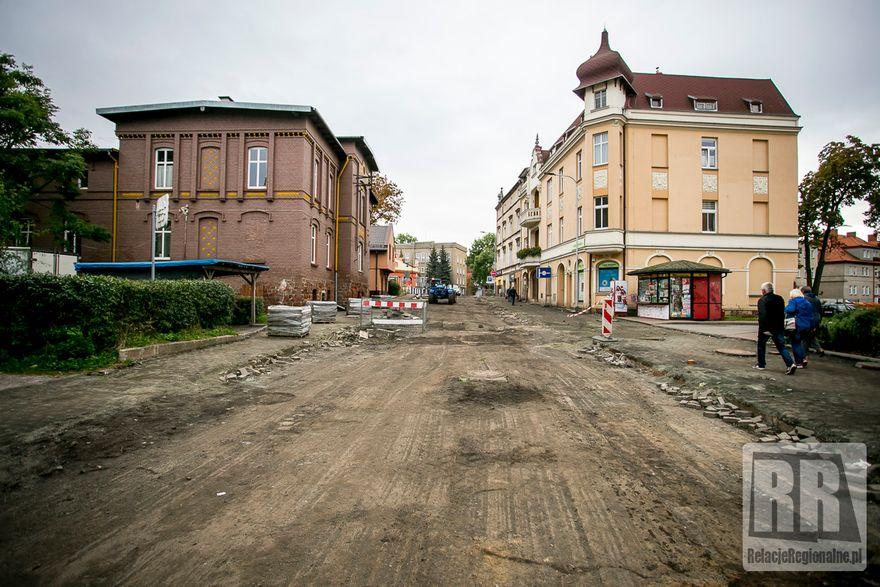 Kamienna Góra: Remont ul. Jana Pawła II