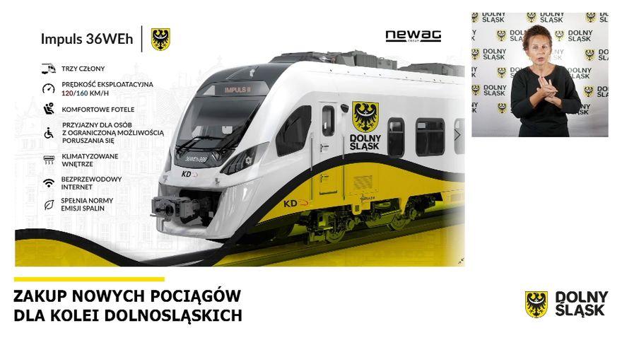 Jelenia Góra: Wkrótce nowe pociągi dla Kolei Dolnośląskich