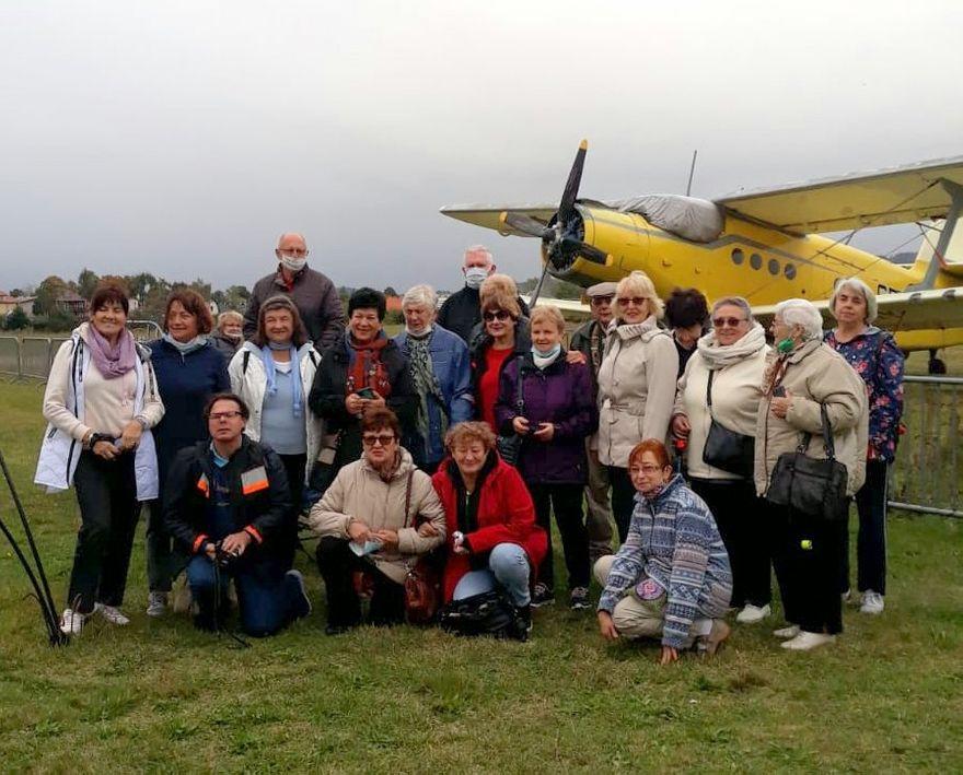 Jelenia Góra: Dzień białej laski na lotnisku Aeroklubu