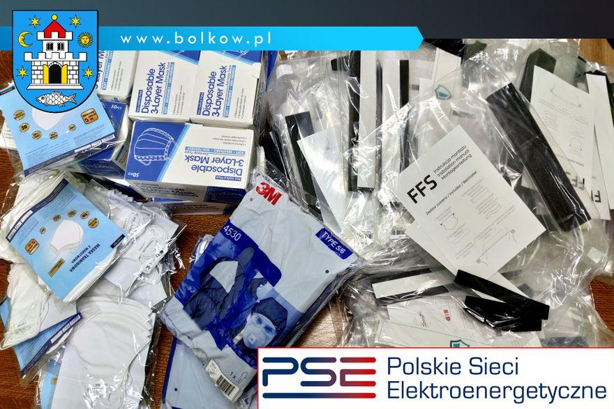 Bolków: Pakiet ochronny w darze