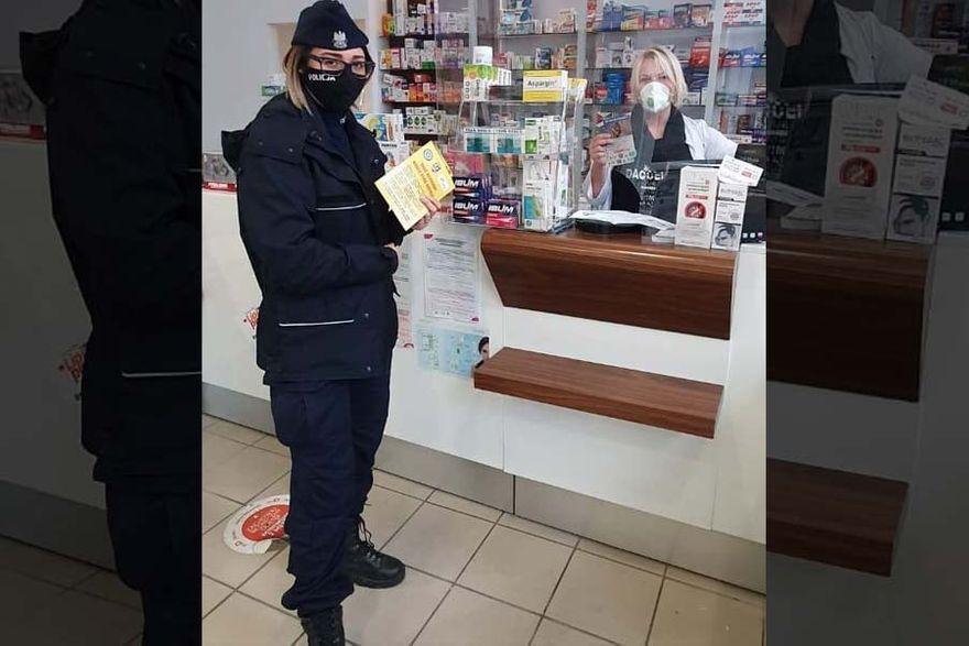 Kamienna Góra: Policja kontra wirus