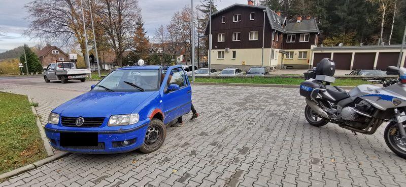 Karpacz: Kierował mimo zakazu