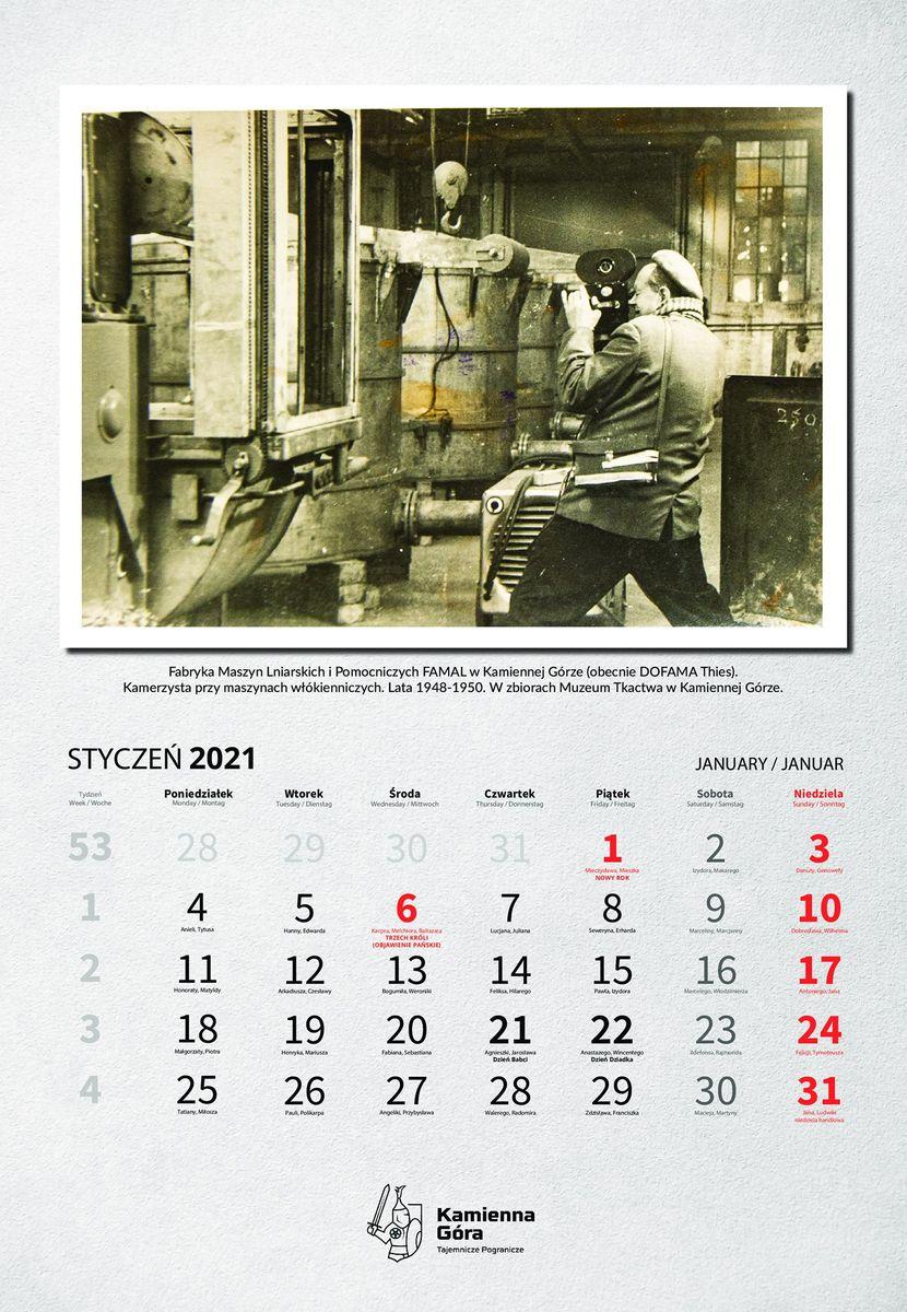 Kamienna Góra: Będzie miejski kalendarz