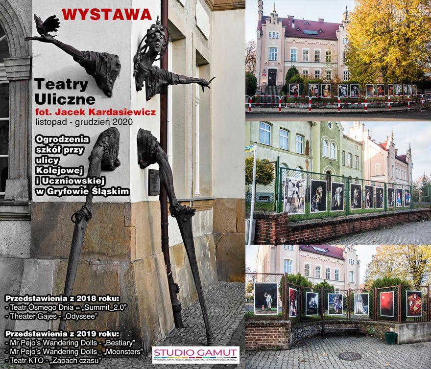 Gryfów Śląski: Teatry Uliczne – wystawa