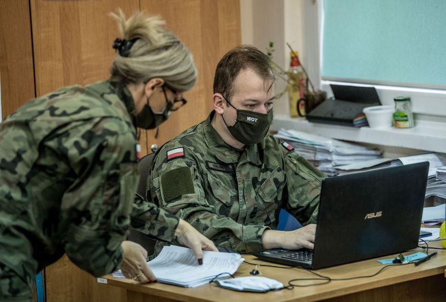 Region: Wojsko wspiera szpitale