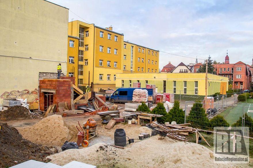 Kamienna Góra: Trwa remont hali