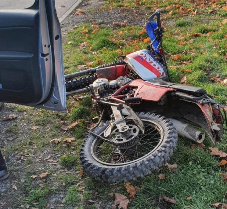 Lubawka: Nieletni bez uprawnień kierował motocyklem
