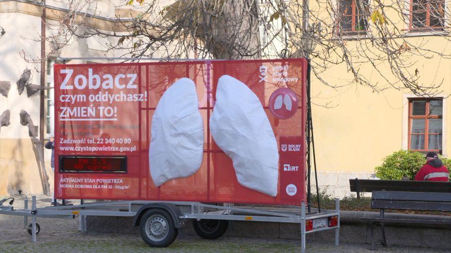 Jelenia Góra: Sztuczne płuca sprawdzą powietrze w centrum