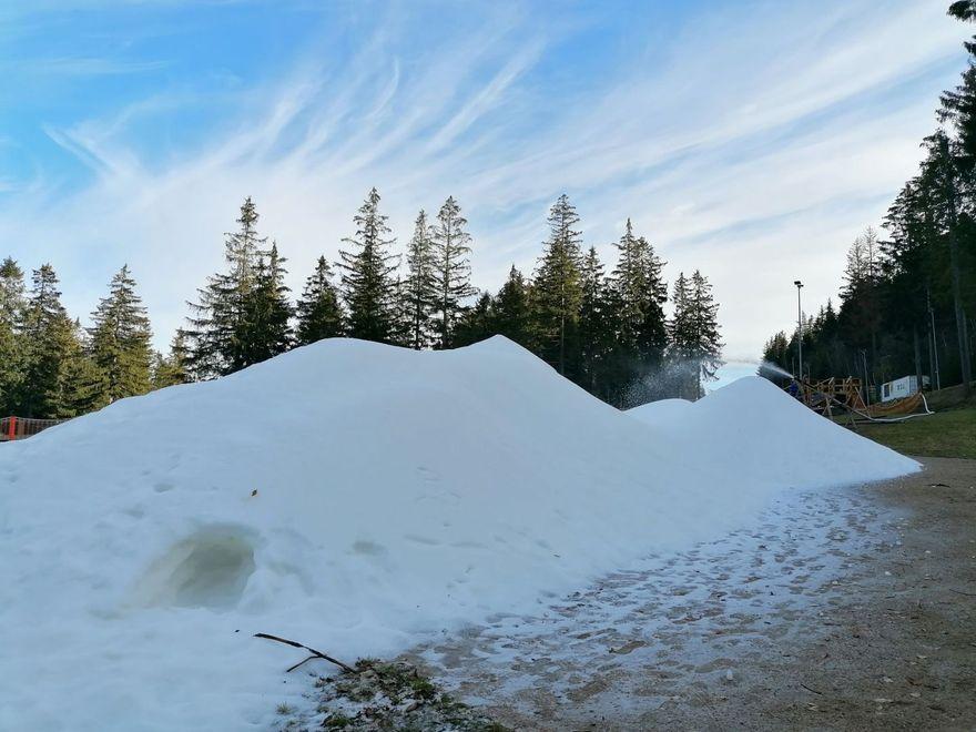 Karpacz: Fabryka śniegu już pracuje