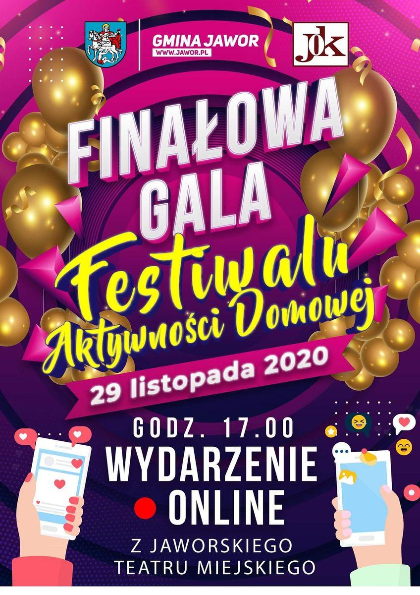 Jawor: Festiwal Aktywności Domowej – on line