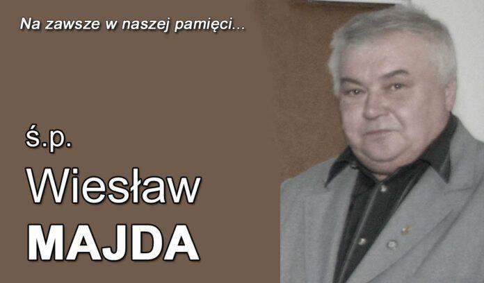 Jawor: Zmarł Wiesław Majda