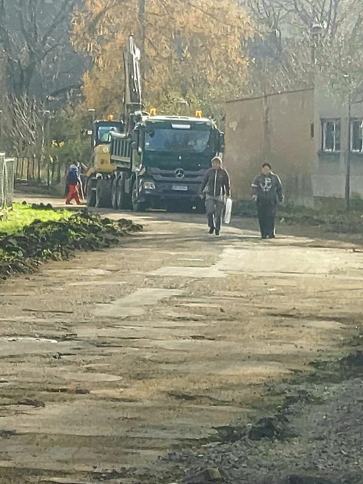 Wleń: Remont ul. Szkolnej