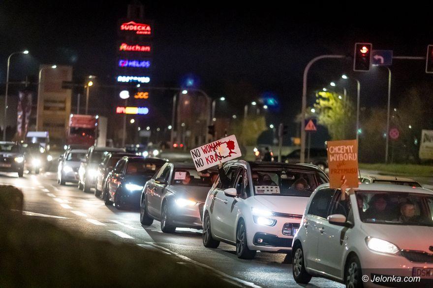 Jelenia Góra: Strajk samochodowy