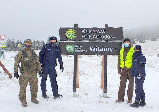 Region: Akcja Zima z udziałem policji i straży leśnej