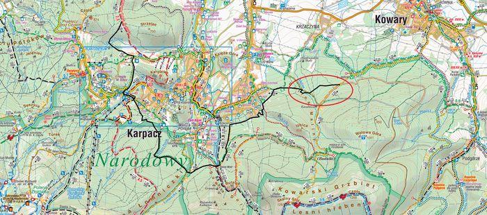 Kowary: Nowy szlak z Kowar do Karpacza