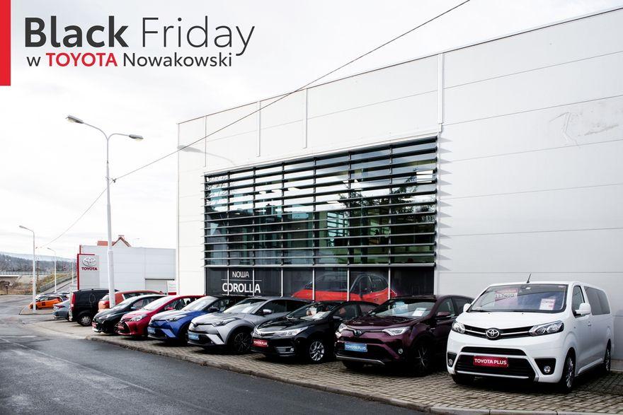 Jelenia Góra: Black Friday w Toyota Nowakowski!