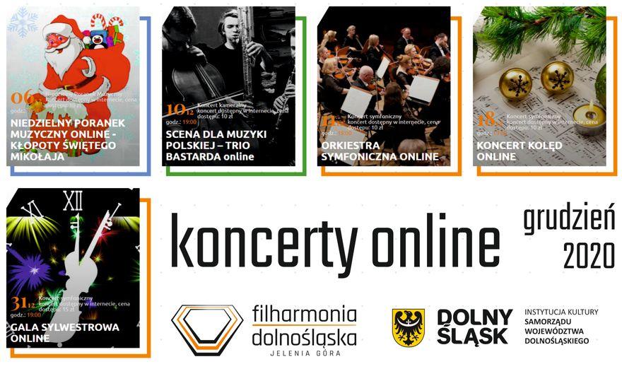 Jelenia Góra: Repertuar Filharmonii Dolnośląskiej w Jeleniej Górze – koncerty internetowe