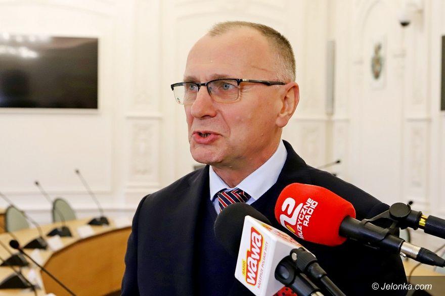 Jelenia Góra: Jerzy Łużniak odpowiada marszałkowi