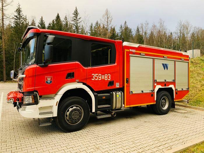 Karpacz: Wóz dla strażaków