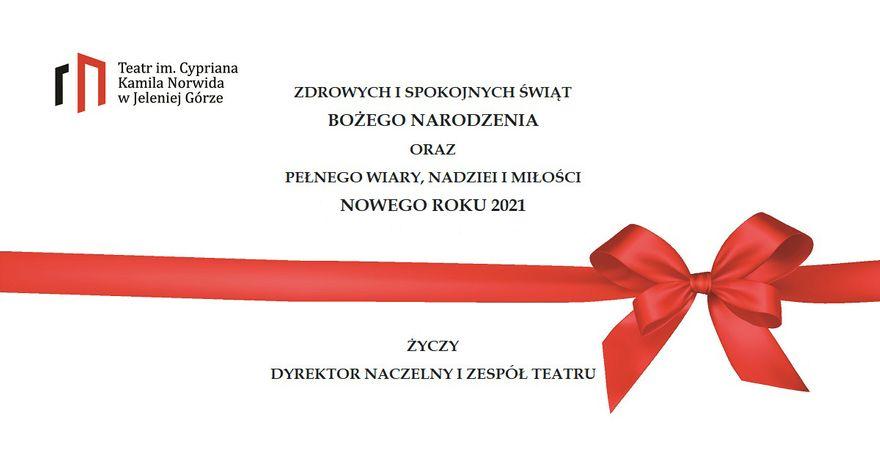 Jelenia Góra: Życzenia Świąteczne z Teatru Norwida