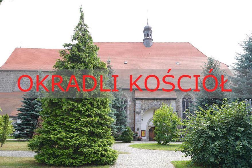 Lwówek Śląski: Kradzież w kościele