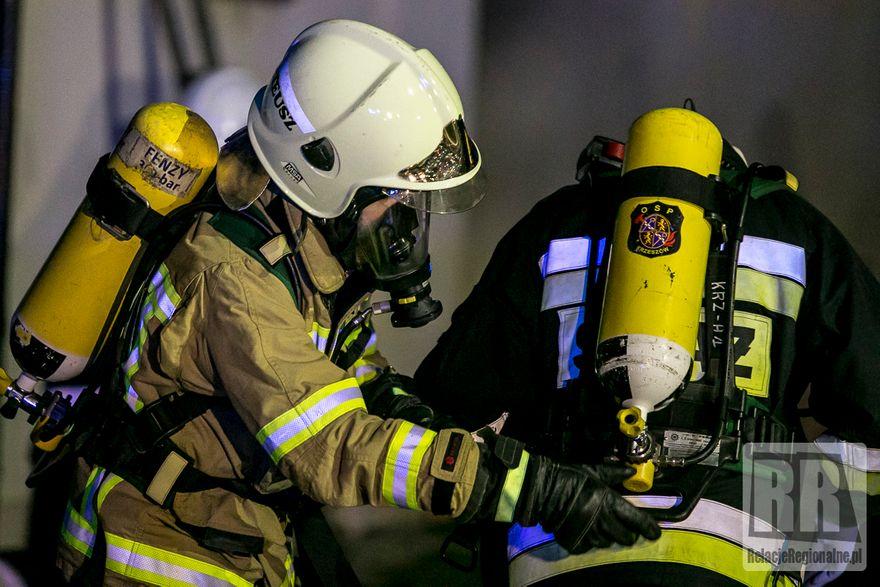 Wieściszowice: Palił się dom mieszkalny