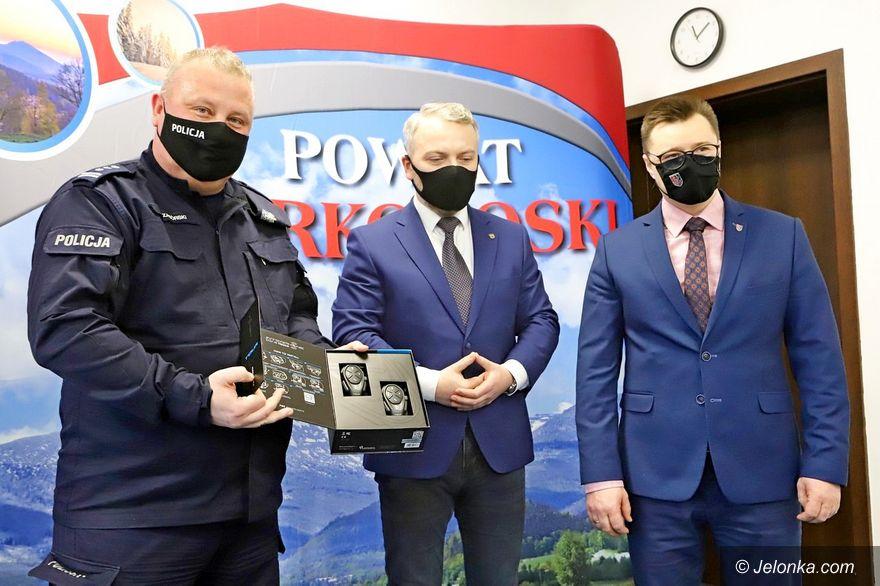 Jelenia Góra: Sprzęt dla policjantów
