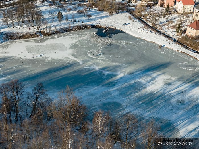 Powiat: Zabawy na lodzie niebezpieczne