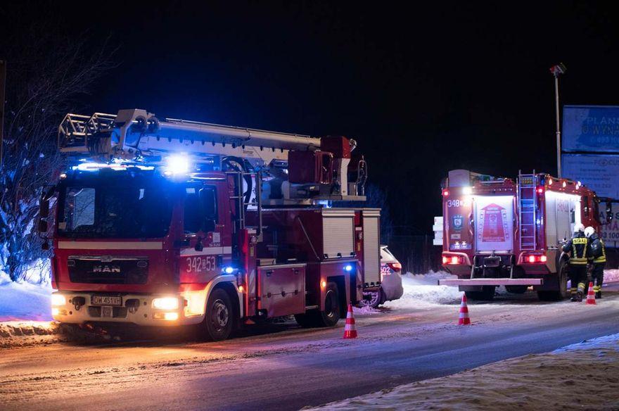 Jelenia Góra: Pożar przy Sudeckiej
