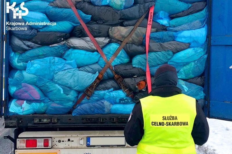 Region: Przejęcie nielegalnych odpadów
