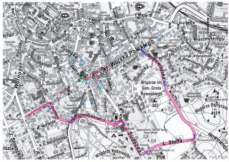 Jelenia Góra: Zmiany w ruchu w centrum miasta