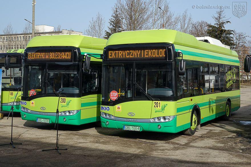 Bolesławiec: Elektryczne autobusy