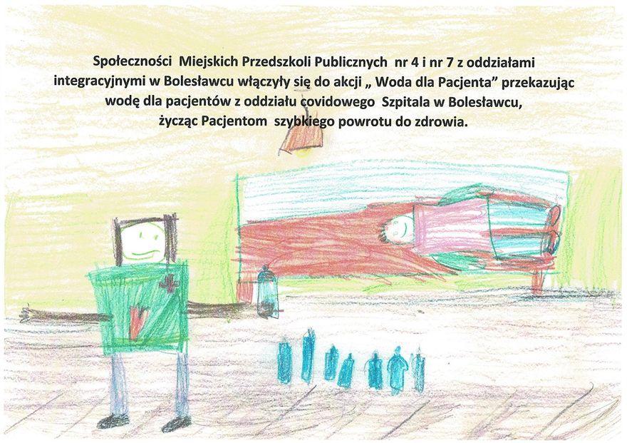 Bolesławiec: Woda dla pacjenta