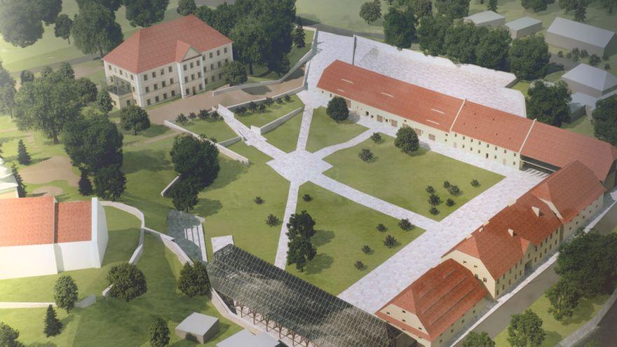 Jelenia Góra: Prace w sobieszowskim pałacu już na półmetku